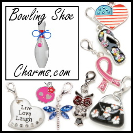 Bowling Shoe Charms